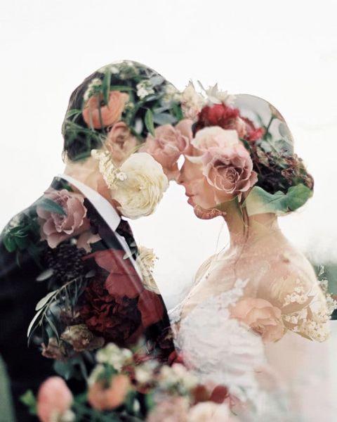 Vintage Wedding Dresses Bay Area: Luxe Ranch Wedding In Muted Jewel Tones