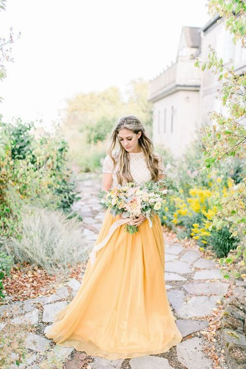 Fresh Boho Bridal Ideas for the Color Lover