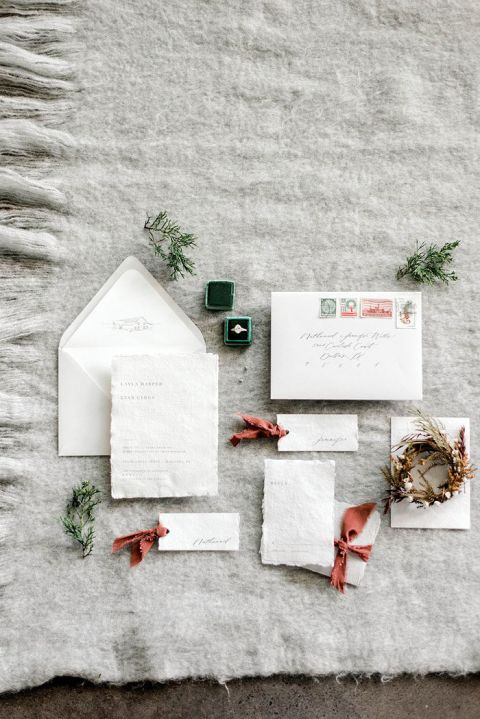 Hygge for the Holidays with a Cozy Winter Wedding