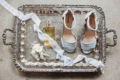 Dusty Blue Wedding Details