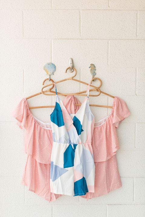 Adorable Rompers for the Bride and Bridesmaids to Get Ready