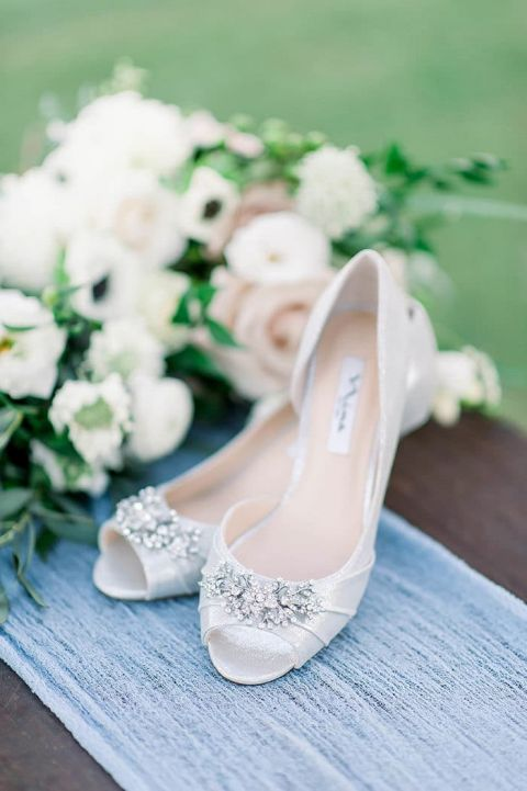 Shoes for a Modern Fairy Tale Wedding