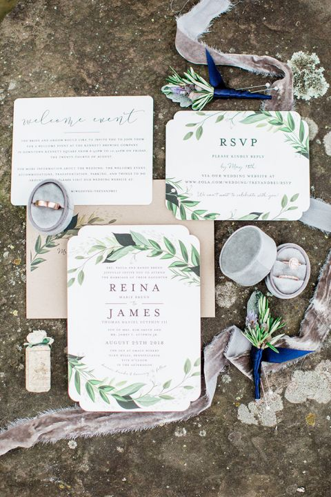 This DIY Wedding Day Has Serious Style
