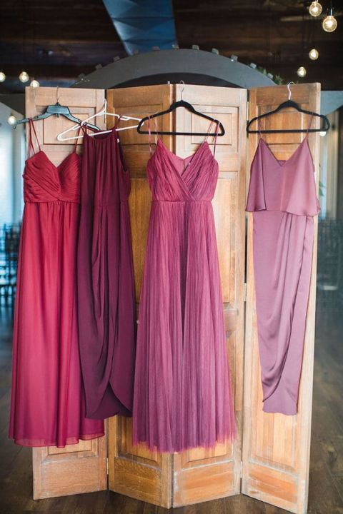 Bridesmaid Dresses for a Industrial Boho Wedding