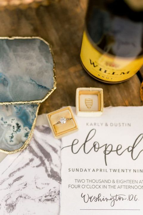 Modern Chic Elopement with High Fashion Style