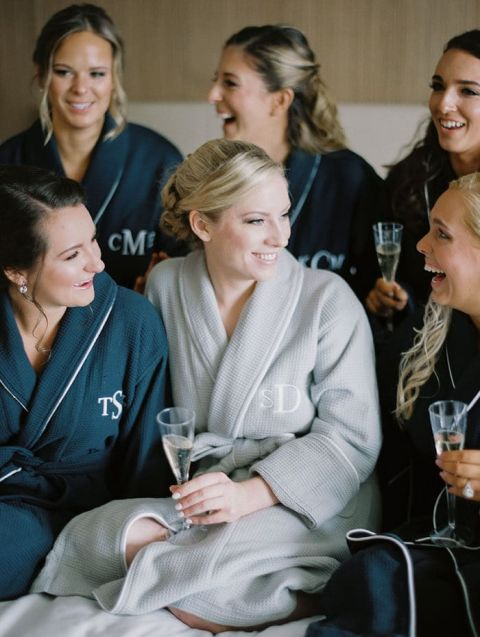 Monogram Robe Gifts for the Bridesmaids