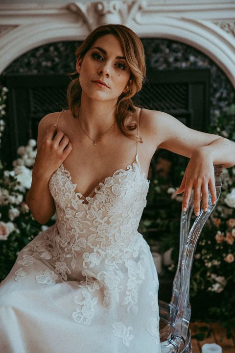 Moody Bridal Portraits