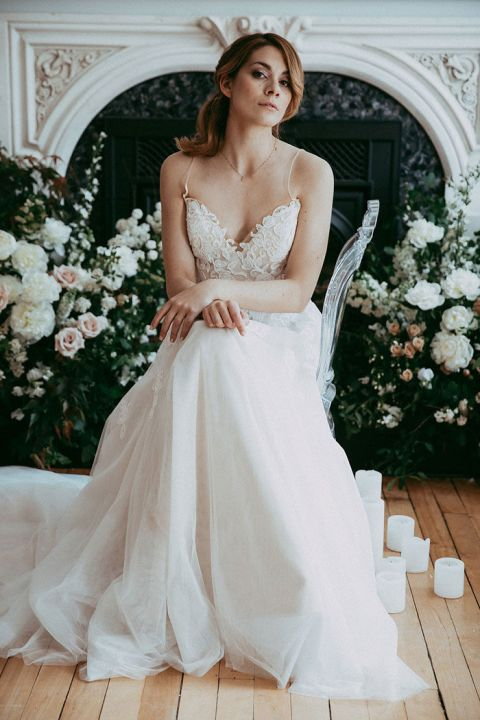 Flower Magic for a Romantic Bridal Portrait Session
