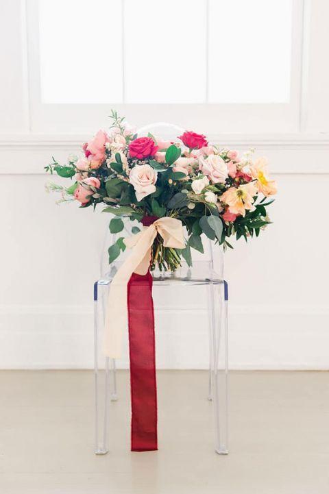 Colorful Chic Bridal Bouquet