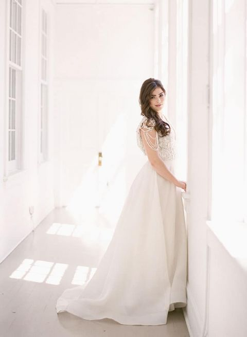 Romantic Heidi Elnora Wedding Dress