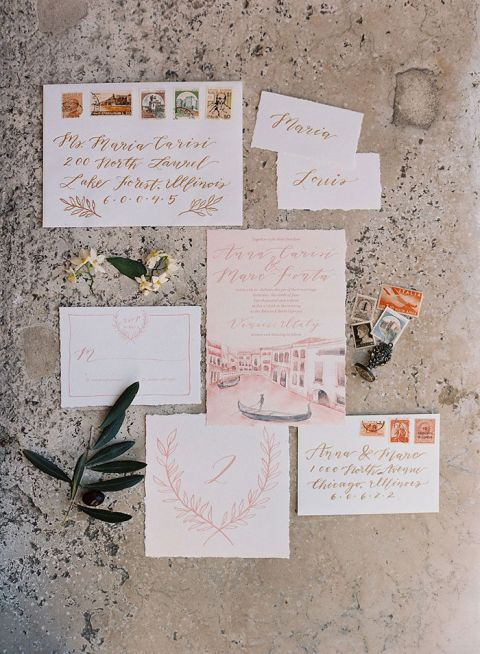 Italian Romance for a Destination Elopement in Venice