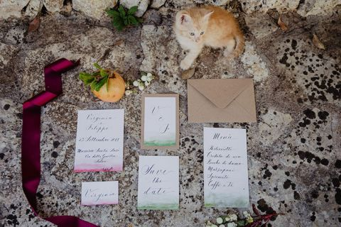 Folk Bridal Shoot in Southern Italy