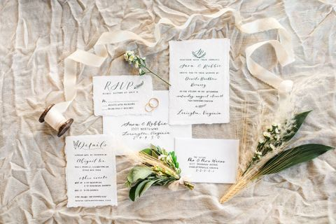 Rustic Farmhouse Wedding Inspired by a Field of Wheat