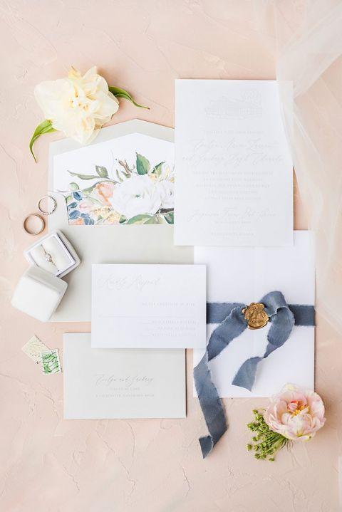 A Pastel Rainbow of Flowers for a Spring Farm Wedding