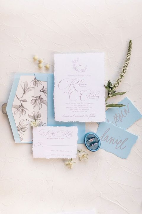 Dusky Blue and Organic Greens for an Industrial Wedding