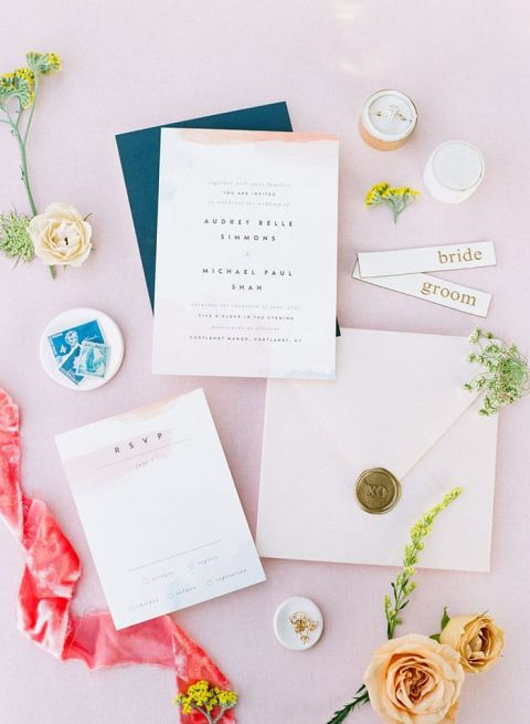 The Colorful Modern Ranch Wedding Day of Your Dreams