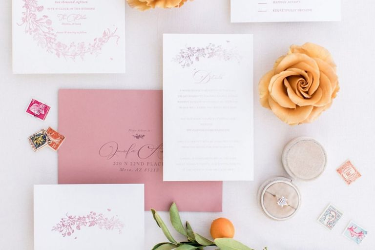 Sunshine and Citrus Modern Ballroom Wedding with a Summer Color