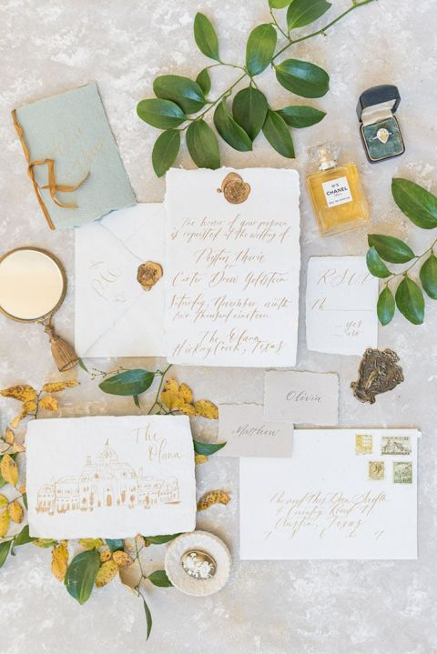 Vintage Manor Details with Sunny Yellow Wedding Flowers