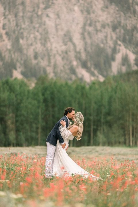 Rocky Mountain Adventure Elopement Wedding
