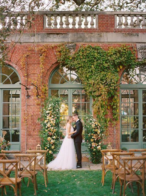 Historic Garden Estate in California for a Tuscan Charm Wedding