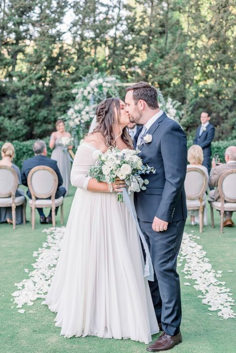 Having a Small Wedding at Home Didn't Mean Missing out on Magical Wedding Photos