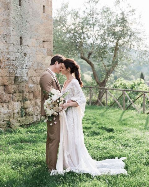 An Italian Countryside Wedding with Storybook Romance