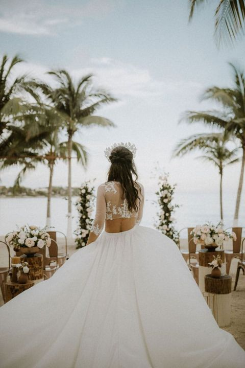 Beachy Boho Bride Ideas for a Riviera Maya Elopement in Paradise