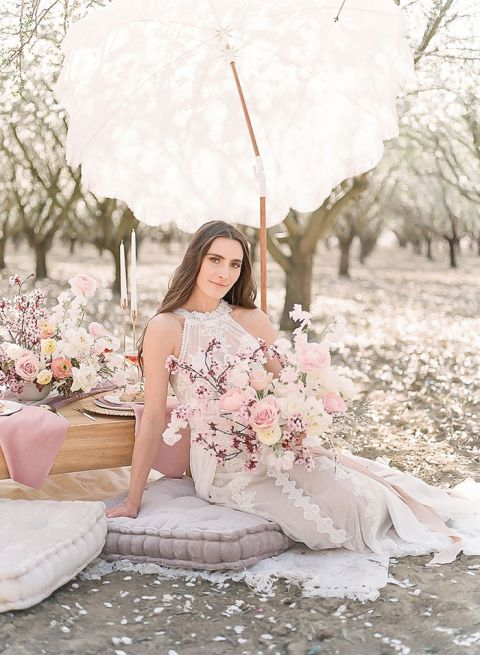 Celebrate Blossom Season with a Romantic Picnic in the Orchards